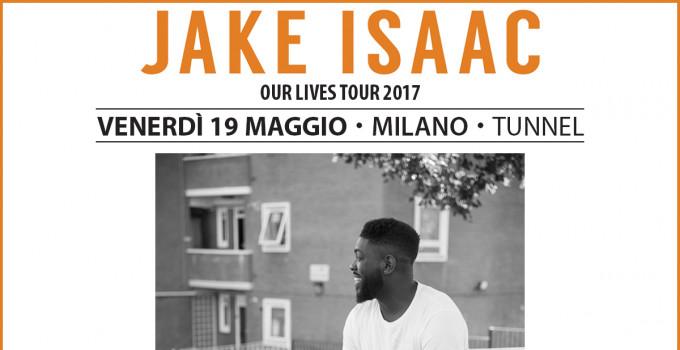 JAKE ISAAC: NUOVO TALENTO MADE IN UK! PER LA PRIMA VOLTA IN ITALIA IN CONCERTO!